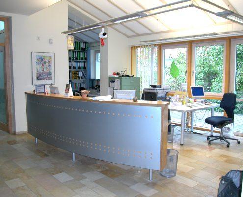 Architektin Renate Peiffer Foyer Ärztehaus