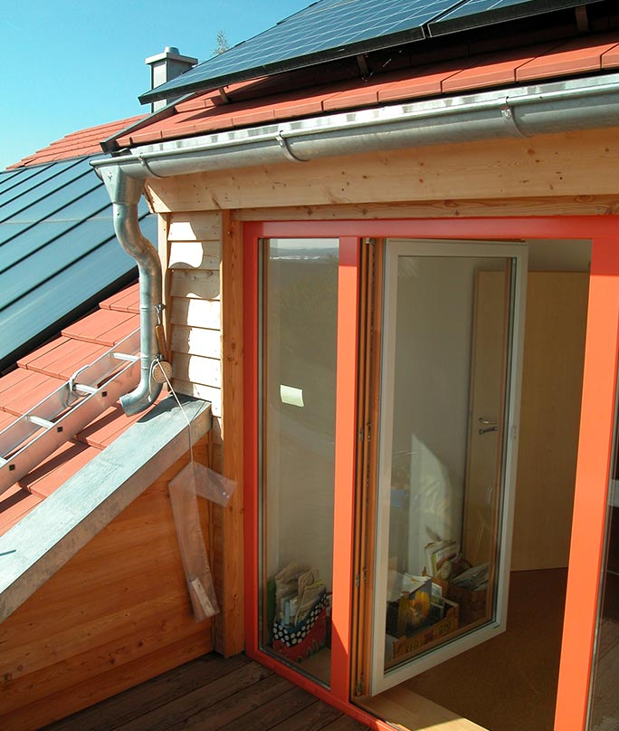 Architektin Renate Peiffer Solarhaus