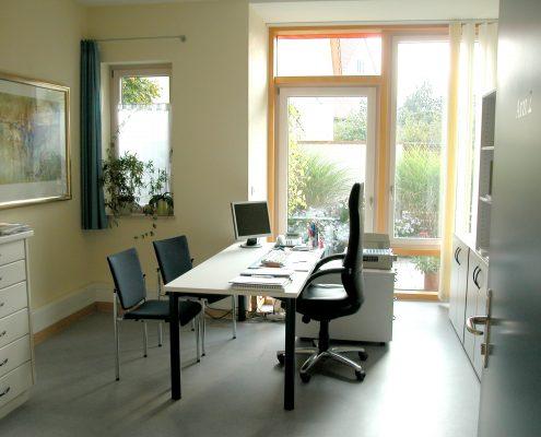 Architektin Renate Peiffer Ärztehaus Sprechzimmer
